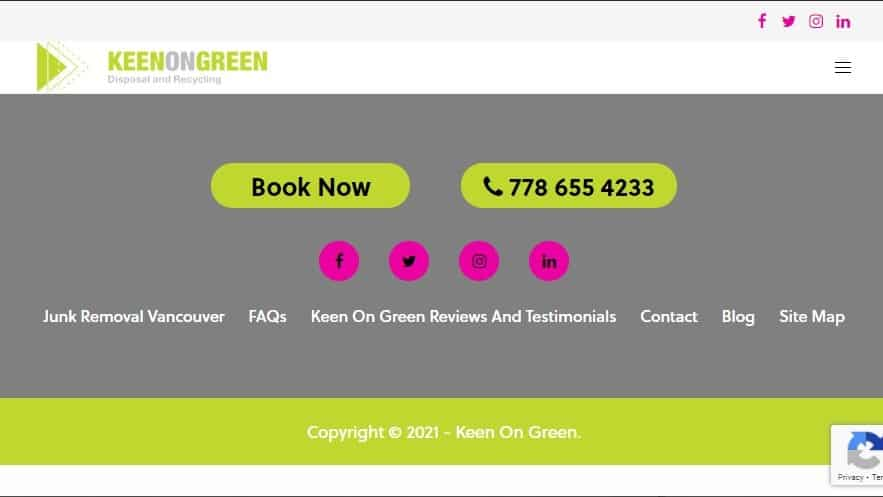 Keen on Green Disposal & Recycling's Homepage