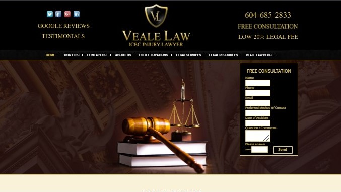 Veale Law's Homepage