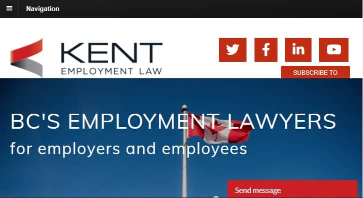 Kent Employment Law's Homepage