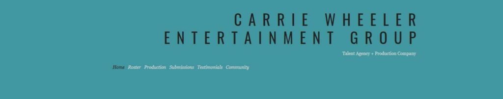 Carrie Wheeler Entertainment Group's Homepage