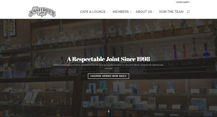 New Amsterdam Cafe's Homepage