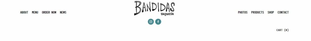Bandidas Taqueria's Banner